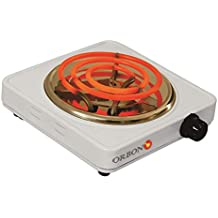ORBON 1100 Watt With Thermostat G Coil Stove Hot Plate Induction Cooktop/Induction Cookers/Electric Cooking Heater/Induction Radient Cooktop (Made In India)(Huge Diwali Discount & Free Shipping)