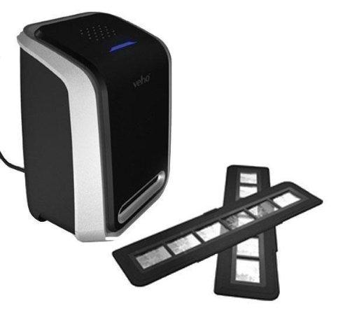 Veho VFS-004 deluxe Diascanner & Fotoscanner (35mm, Foto, 5 Megapixel, 3600 dpi, 48bit, inkl. Software)
