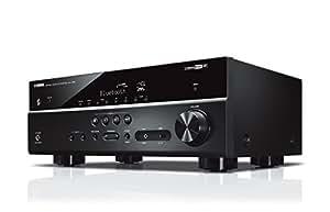 YAMAHA RX-V485 – Amplificateur Home Cinema 145W – Système Bluetooth, Wifi, Airplay, Multiroom – Compatible avec smartphones et ordinateurs – Noir