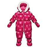 Chicco Luxury Line Be Happy Pink Daunen-Schneeoverall 9-12 Monate Luxus Schneeanzug