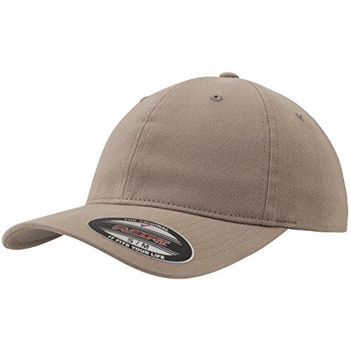 Imagen de flexfit   de béisbol unisex, con acabado de algodón lavado, unisex, garment washed cotton dad hat, caqui, large/extra large