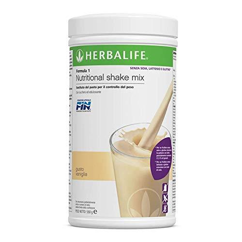 Herbalife Formula 1 Gesunde Mahlzeit Vanille - lactosefrei, glutenfrei, ohne Sojazusatz - 550 g - Vanille Gesund