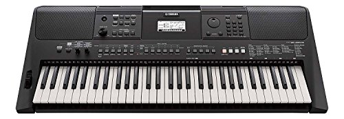 Yamaha 61-Key Portable Keyboard (Black, PSR-E463)