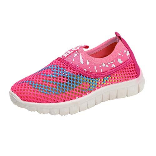 Pingtr - Unisex Mesh Babyschuhe Sportschuhe,Jungen und Mädchen Flamme Turnschuhe atmungsaktive Schuhe Mesh-Schuhe Laufschuhe (Flamme Prinzessin Kostüm)