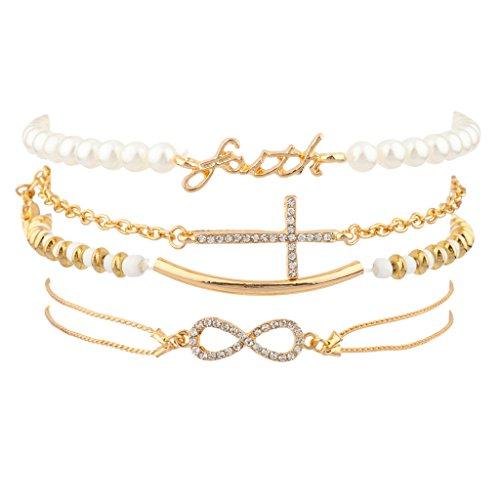 lux-zubehr-faith-pav-kreuz-bar-infinity-arm-candy-faux-pearl-armband-set