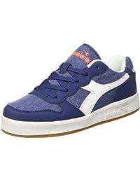 Diadora Game P High Jr, Sneaker a Collo Alto Bambino, Blu (Blu Estate/Bianco), 29 EU