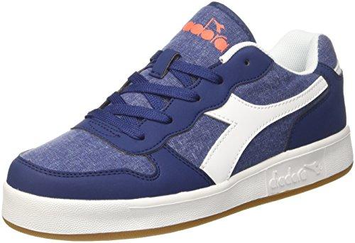 Diadora playground cv gs, sneaker bambino, blu (blu estate), 37 eu