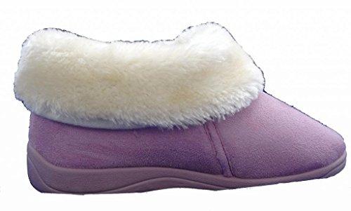 Dunlop , Damen Hausschuhe Powder Pink