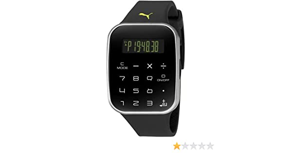 Puma Herren Armbanduhr Digital Quarz Plastik PU910531002