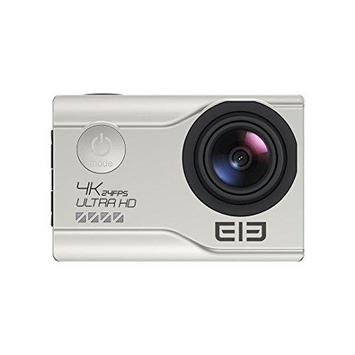 [Elephone Official Store]ELE Explorer Elite NT96660 Sony IMX078 1080P 4K Weitwinkel wasserdichte WIFI ActionKamera Silber