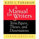 Depends turabian a manual for writers of term papers theses and dissertations threats FAMU Online