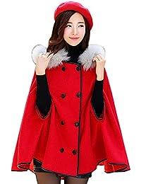 nihiug Cloak Shawl Coat Otoño Femenino Y Abrigo De Invierno Loose Big Size Literatura Y Arte