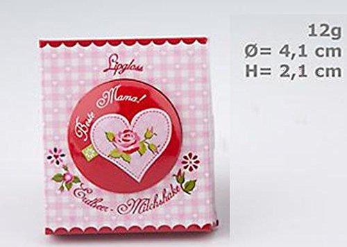 ttertag - Beste Mama! Geschmack: Erdbeer - Milchshake Inhalt: 12g Lipgloss für schöne gepflege Lippen. (Erdbeer-milchshakes)