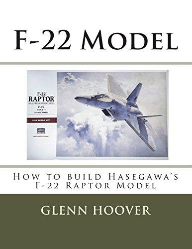 F-22 Model: How to build Hasegawa's F-22 Raptor Model: Volume 10 (A Glenn Hoover Model Build Instruction Series) por Glenn Hoover