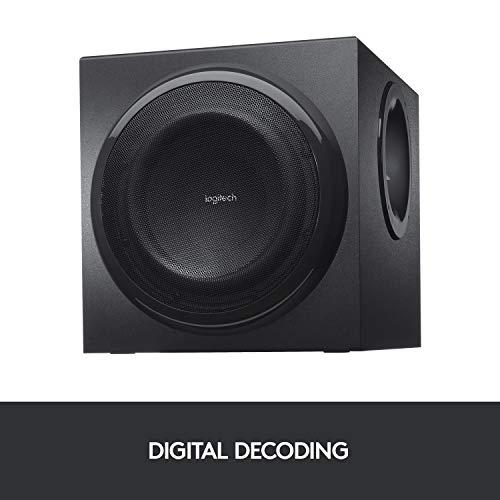 Logitech Z906 3D Stereo Lautsprecher THX (Dolby 5.1 Surround Sound und 500Watt) schwarz - 5