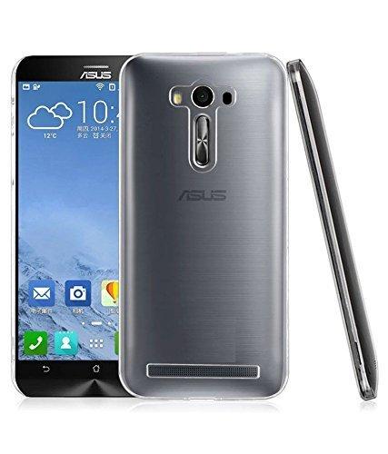 Anmol Transparent Soft Ultra Slim Back Cover Case Asus Zenfone 2 Laser (5.5 inch) ZE550KL