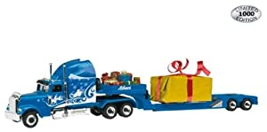 """452241000 - Schuco Edition 1:87 - Peterbilt """"Navidad 2009"""" trailer"""