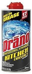 Drano Kitchen Crystals Drain Opener - 18 oz - 2 pk