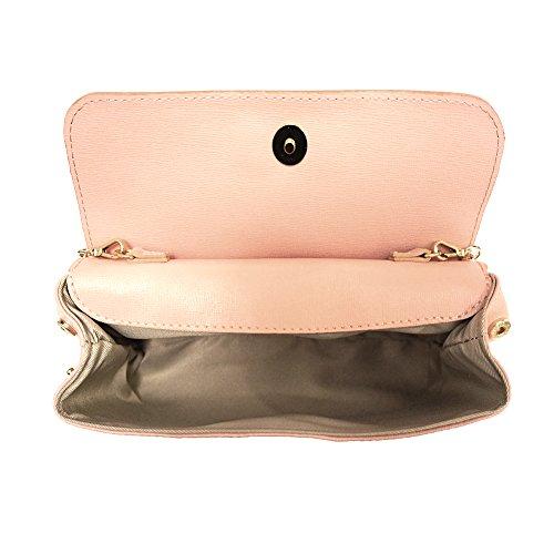 Pochette mit abnehmbarer Schultergurt 6145 Licht pink
