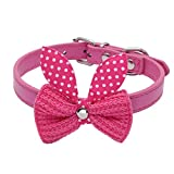 Yivise - Chien Chat Animaux de Compagnie Cravate Formelle Animal de Compagnie Collier en Ajustable Nœud Papillon Bowknot...