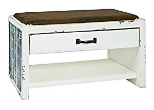 HAKU Möbel 30906 Banc Style vintage 38 x 72 x 42 cm
