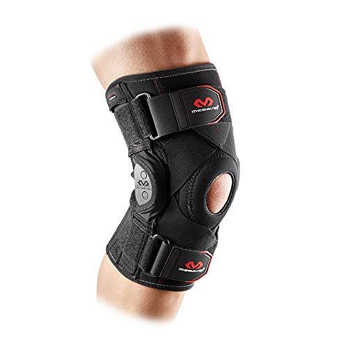 Mcdavid Unisex Adult 429x-bk-xxl Knieschoner knieorthese, orthese Knie, chnellere Erholung, Stabilität und Unterstützung beim Sport: Skifahren, Laufen und Mehr, Schwarz, XXL