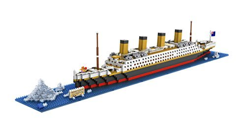 The Titanic Model Micro Block Build Set - NanoBlocks Micro Diamond DIY Educational Toys by GOCOUP
