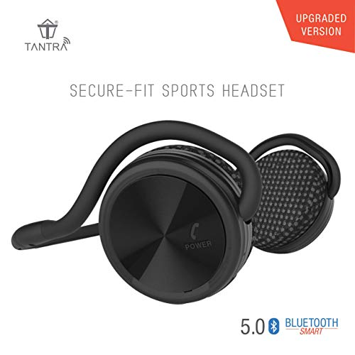 Tantra Groove Sports Bluetooth Headphone 5.0 on-Ear Wireless Earphone (Black)