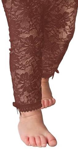 Baby Emporio - Leggings en dentelle pour bébé/fille - nœuds