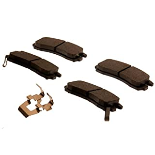 ACDelco 171-628 GM Original Equipment Rear Disc Brake Pad Kit with Brake Pads and Clips