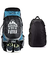 Lioncrown Trek 65 Ltrs Trekking, Hiking Rucksack with Shoe C