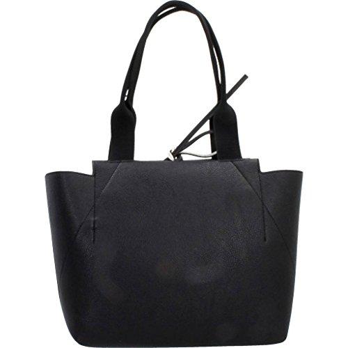 Calvin Klein Medium Reversible Femme Handbag Noir Noir