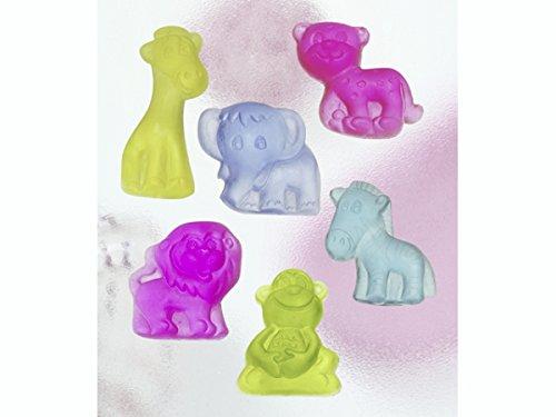 Knorr Prandell 7-8 cm Safari Formen zum Seifengießen, Transparent -