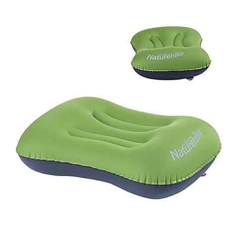 Ubens Naturehike Bureau Gonflable Oreiller Travel Air Pillow Oreiller de camping Outdoor Sleeping Gear(Green)
