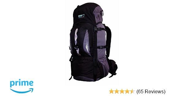 High peak rucksack sirius schwarz grau 80 liter: amazon.de: sport