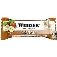 5f89b8265a7d8 Weider Body Shaper - Fitness Bar + Protein - Haselnuss (24 Riegel á ...