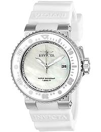 Invicta Damen-Armbanduhr Analog Quarz Silikon-22666