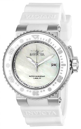 Invicta Damen-Armbanduhr Analog Quarz - Bands Invicta Silikon Watch