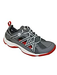 Timberland - Sandalias deportivas de material sintético para hombre gris gris