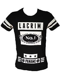 T-shirt LACRIM OFFICIEL nouvelle collection PANAM N°1 - Vêtement lacrim ripro musique ados et adulte XS,S,M,L,XL