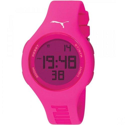 Puma Ladies Watch Digital Loop Neon Pink Quartz  A.PU910801002