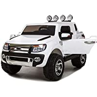 TH Coche Eléctrico para Niños Electric Toy Ride-On SUV- 2.4Ghz, 12V7A
