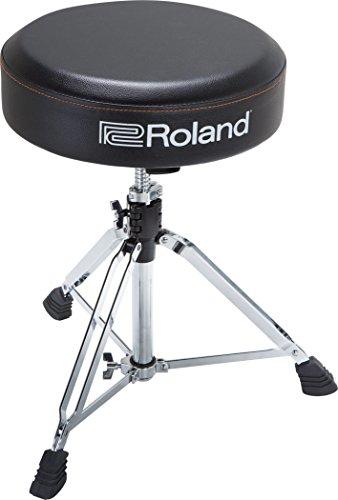 Runder Roland Drum-Hocker mit strapazierfähigem Vinyl-Sitz - RDT-RV