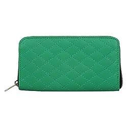 Anekaant Duvet Green PU Wallet