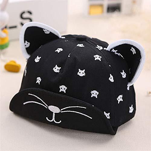 Imagen de mlpnko nuevo gorro de bebé  de bebé hombres y mujeres bebé compras sombrilla sombrero código negro