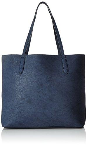 s.Oliver (Bags Damen Shopper Schal, Blau (Blau), 12x31x46 cm