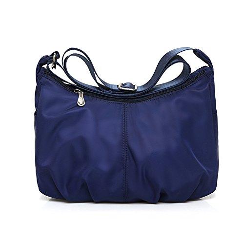 sacchetto di nylon impermeabile casuale messenger/borsa a tracolla/Oxford borsa da viaggio di stoffa-D D