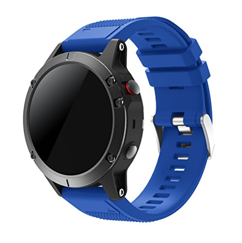 f¨¹r Fenix 5 Armband, SUPORE Quick Fit weiches Silikon Sportarmband Uhr Band Strap Ersatzarmband Uhrenarmband f¨¹r Garmin Fenix 5 Smartwatch Gps-Multisportuhr