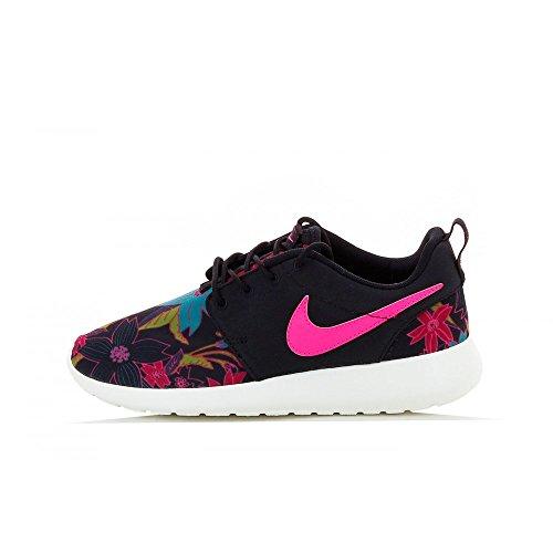 Nike Wmns Roshe One Print Premium donna, tela, sneaker bassa Rosa