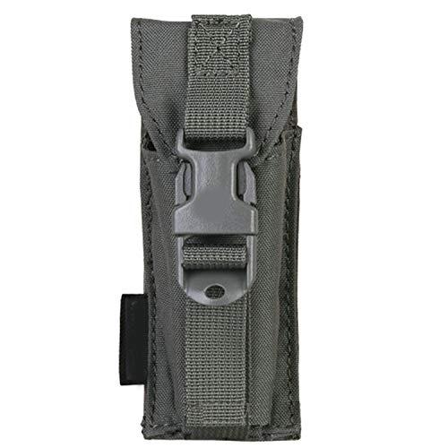 Multifunktions-Werkzeugtasche Molle Jagdausrüstung Taschen für Taschenlampe Radio Werkzeug Tasche Nylon Laubgrün Einheitsgröße -